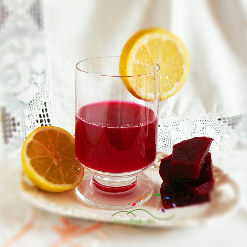 Barbabietola con limone ottima per l'anemia!
