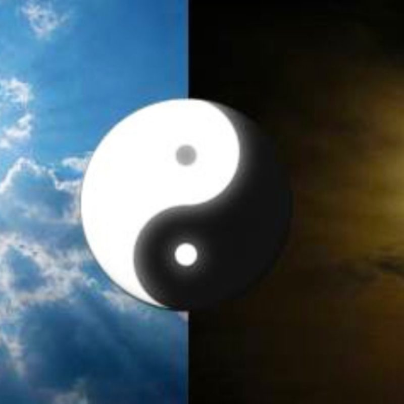"""Bits""  of ""Yin-Yang Theory""."