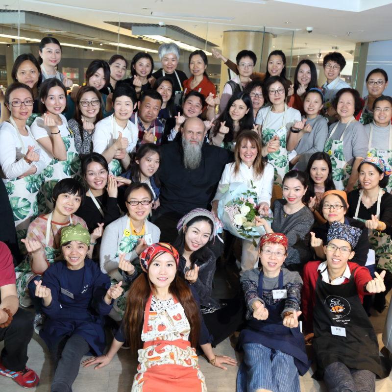 Corso di Cucina Naturale/vegan a Pechino 30-31 Marzo 1 Aprile 2018
