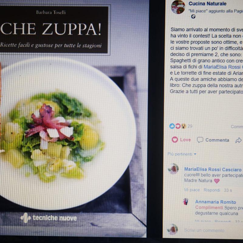 """Arcobaleno in Cucina vince il contest della rivista """"La Cucina Naturale"""""""