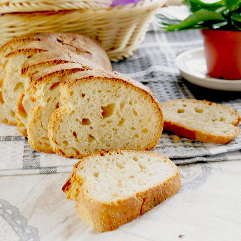 La ricetta del Pane  Biologico fatto in casa con lievito naturale