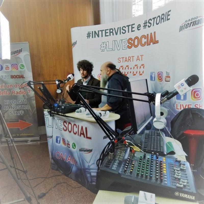 Giovedì 18 aprile intervista su Radio International