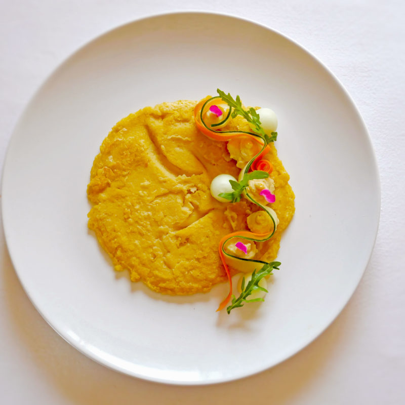 Frittata con Farina di Ceci con Curcuma e Curry
