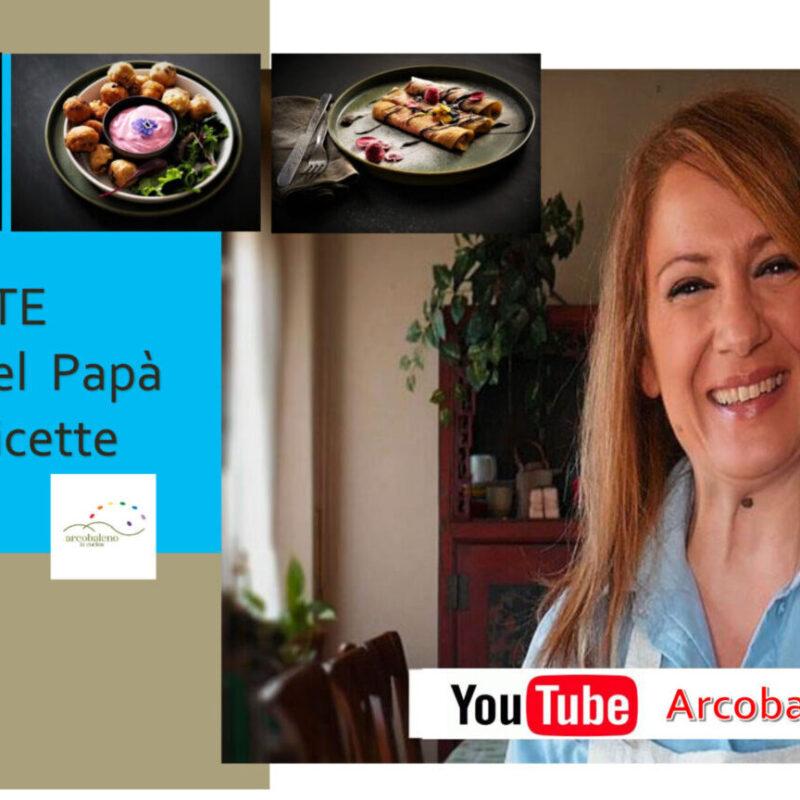 Sul nostro Canale Youtube 3 VIDEO ricette per la Festa del Papà!!!