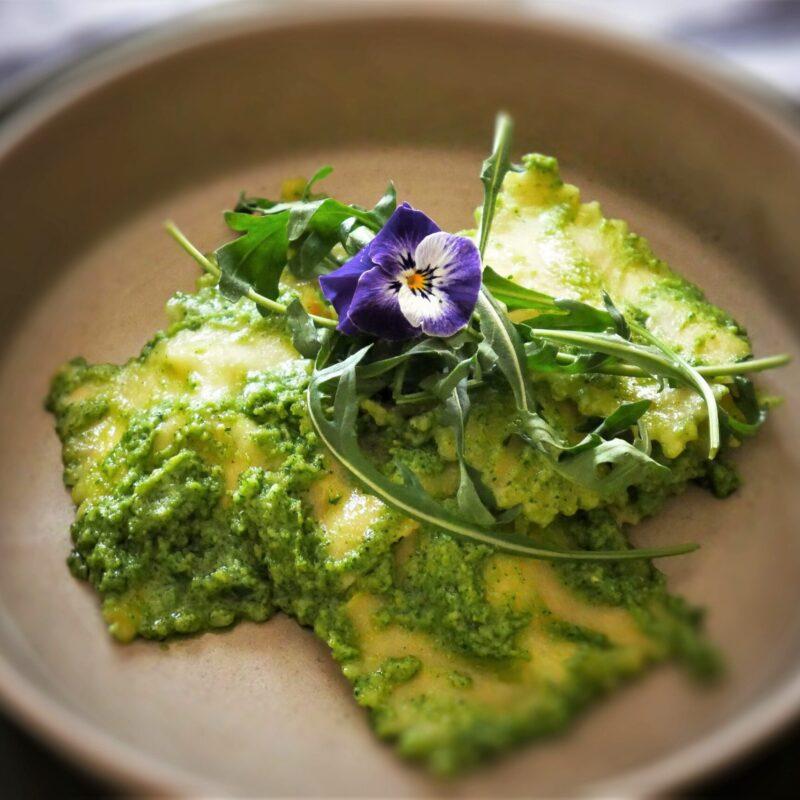 Come fare i ravioli in casa dal gusto vegetale