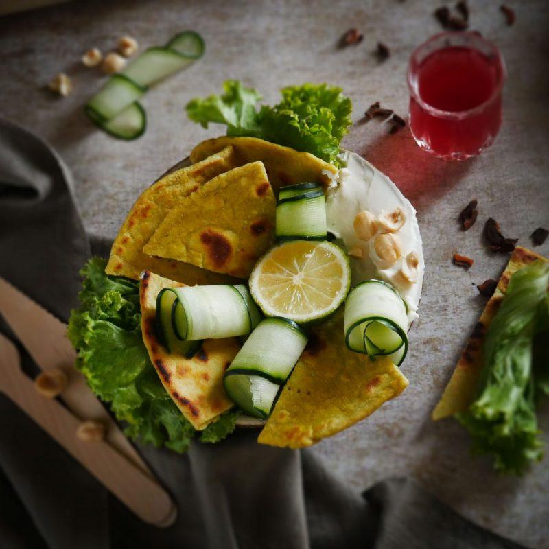 Piadine al Curry